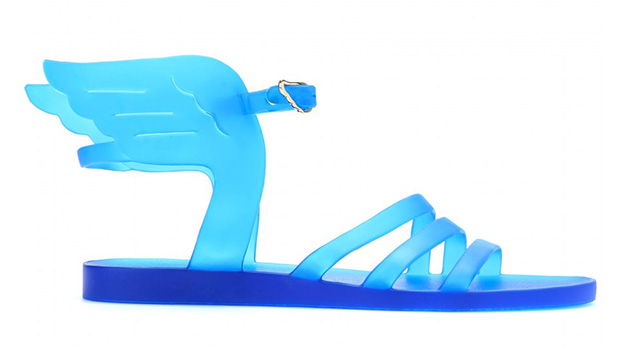 ancient-greek-sandal-blue-plastic