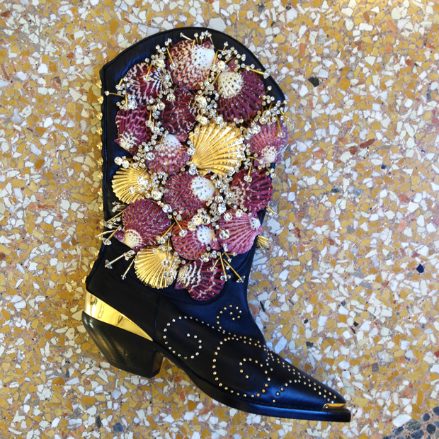 fausto-puglisi-SS16-shooooes-shell-boots