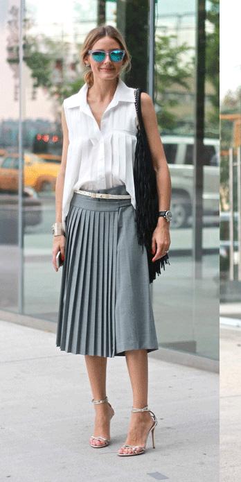 Que porter avec des chaussures argent es et lesquelles - Que porter avec un pantalon beige femme ...